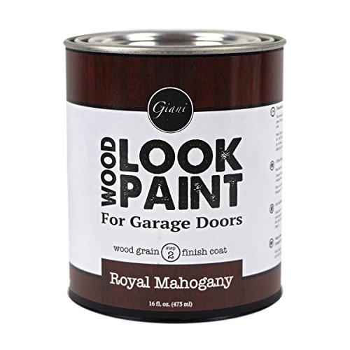 Giani Wood Look Paint for Garage Doors- Step 2 Wood Grain Finish Coat, Pint...