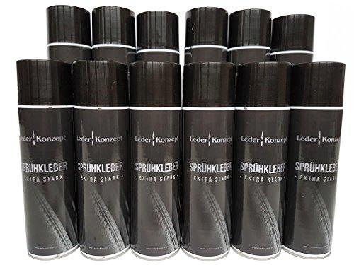 Lot de 12 sprays de colle industrielle 500 ml