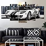 Leinwanddrucke 5 Stück Leinwand Bilder Wanddeko Wand