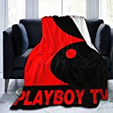 GVV Ultra-Soft Micro Fleece Blanket Playboy Throw Blanket Warm Blanket Throw Blanket Ultra Soft Thick Bed Blanket for Couch Fleece - All Season Premium Bed Blanket (50'x40')