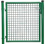 FORMAT Puerta para jardín (1 hoja, 1000 x 1750 mm), color verde