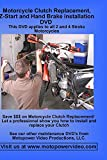 Motorcycle Clutch Replacement DVD