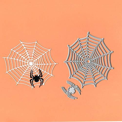 JWGD Spin Spin Web Metall Schneiden Die Schablone Vorlage for DIY Prägepapier Fotoalbum Karte Machen Handwerk Neue Würfeln for Geschenkdekor