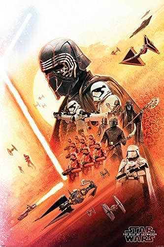 1art1 Star Wars - Episodio IX El Ascenso de Skywalker Kylo REN Póster (91 x 61cm)