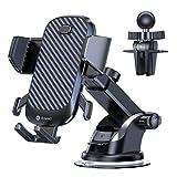 VICSEED - Supporto per telefono da auto con ventosa, per iPhone 11 Pro, Xs Max, XR, X, 8, 7, 6, Samsung S10, S9, S8, S7, S6, Huawei ecc.