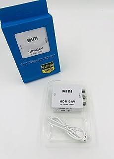 Adaptador Conversor HDMI para AV RCA Full HD Alta Resolução HDMI2AV