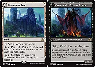 Magic The Gathering - Westvale Abbey // Ormendahl, Profane Prince (281/297) - Shadows Over Innistrad