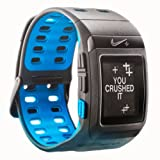Nike+ SportWatch GPS Powered by TomTom (Anthracite/Blue Glow)