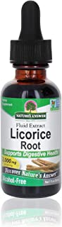 Nature's Answer Licorice Root | Herbal Supplement | Supports Digestive Health | Non-GMO & Kosher | Alcohol-Free, Gluten-Fr...