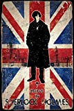 Cimily Sherlock Holmes Poster Zinn Wand Zeichen Retro Kunst