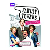Fawlty Towers Remastered BBC TV Comedy Series 1 & 2 Complete DVD Collection [3 Discs] Boxset + Extras