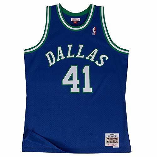 Dirk Nowitzki Dallas Mavericks Mitchell & Ness Swingman Jersey (X-Large)