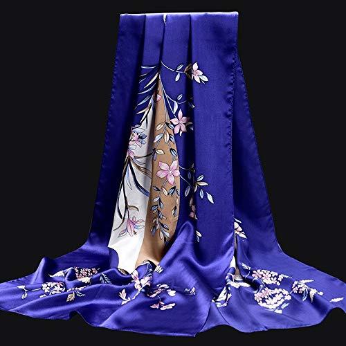 Vcnhln Scarf women floral print shawl bag ladies long scarfOne size