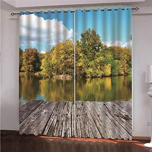 cortinas termicas de paisajes