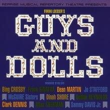 Guys And Dolls (1964 Studio Cast) Soundtrack Edition by Frank Sinatra, Dean Martin, Bing Crosby, Dinah Shore, Debbie Reynolds, Sammy Dav (1992) Audio CD