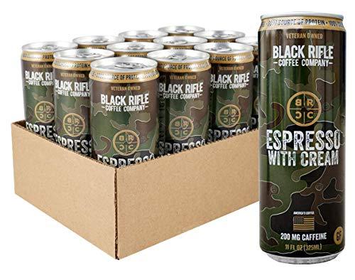 Black Rifle Coffee RTD (Espresso with Cream, 12 Count)