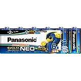 パナソニック エボルタNEO 単2形アルカリ乾電池 6本パック LR14NJ/6SW