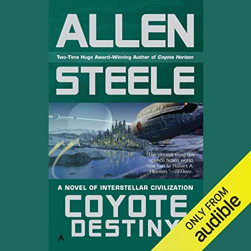 Coyote Destiny audiobook cover art