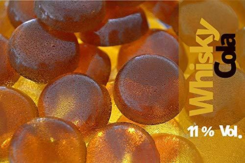 150g - bedizzy - alkoholischer Fruchtgummi - 11,0% vol. Alkohol (Whisky Cola)