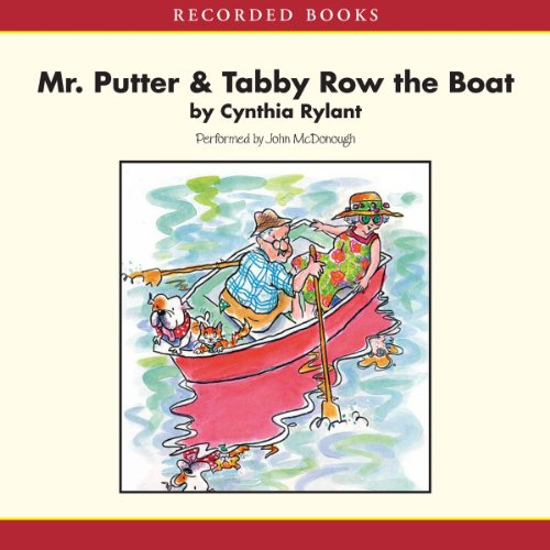 Mr. Putter and Tabby Row the Boat cover art
