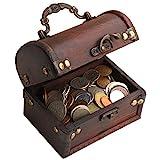 IMPACTO COLECCIONABLES Monedas de Coleccion - 1 Kilo de Monedas + Cofre de...