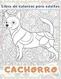 Cachorro - Libro de colorear para adultos