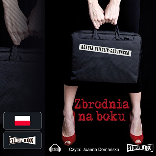 Zbrodnia na boku audiobook cover art