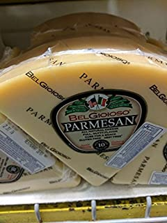 Belgioioso Parmesan Cheese Wedge 2 Lb (2 Pack)