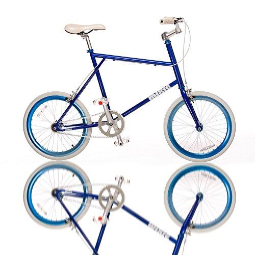 Fydelity MIXIE Mixed Gear Fixie Vélo Croisé – Style Doggy - Engrenage Fixe/Moyeu Tongs/Coloré/Hip Hop Bicycle/BMX/Petites Roues/Compact/Pliable/Style