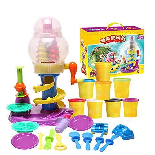 Conjunto de juguetes de plastilina, colores DIY Modelado mágico Conjunto de plastilina...