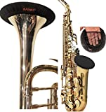 KYT Music Instruments Bell cover,Trumpet Alto saxophone Bell Cover 5'',Washable and Reusable, Double-Layer Bell Cover for Trumpet Alto saxophone Bass Clarinet Cornet