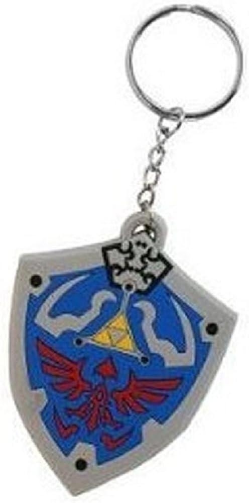 Bioworld Merchandising - Legend Popular overseas of Keychain Zelda Long Beach Mall Rubber Hyrulia