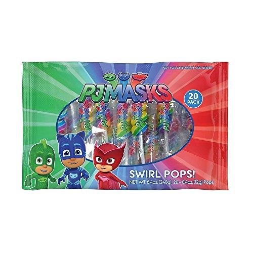 PJ Masks 20 Pack Lollipop Swirls