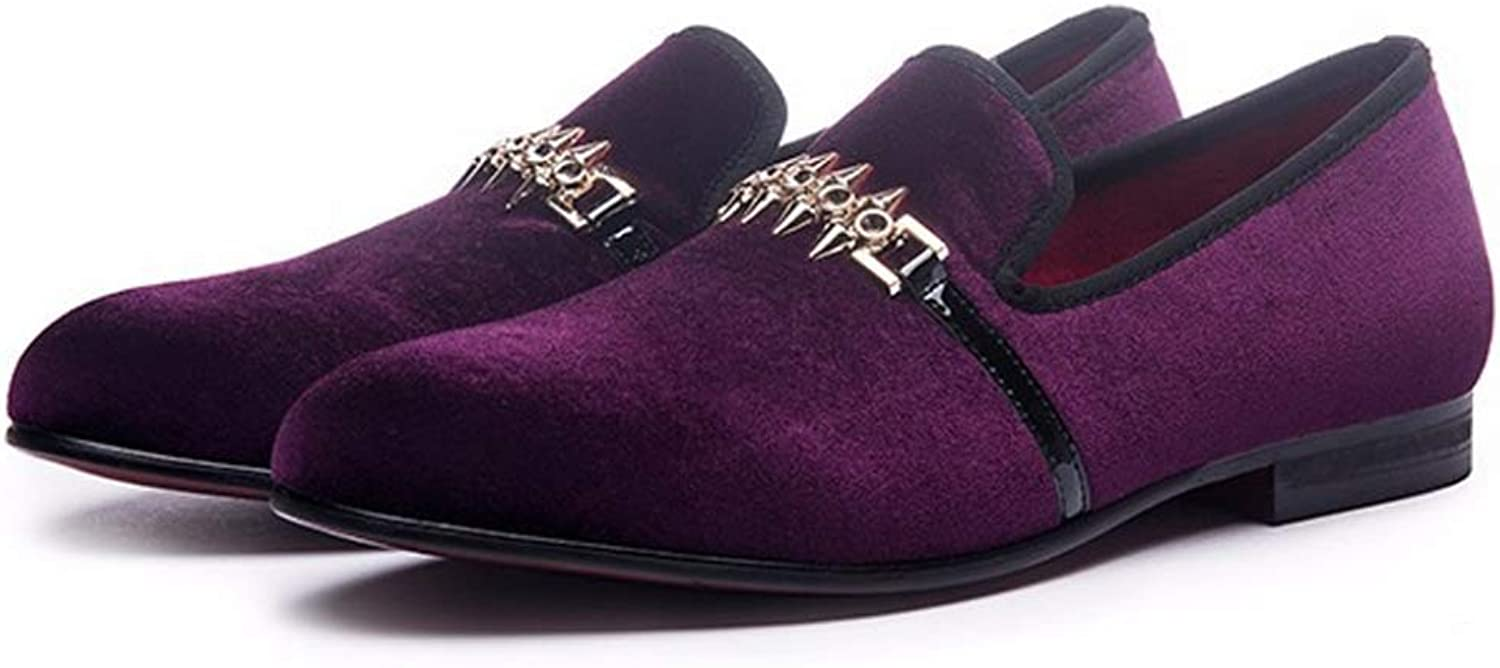 Flat shoes Men'S Loafers Leather Business shoes Work shoes Leather shoes Wear Breathable Casual shoes Wedding shoes Driving shoes
