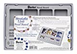 Darice 1902-06 10-1/2-Inch by 7-Inch Flocked Bead Board with Lid