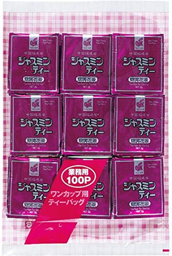 OSK(オーエスケー) OSK業務用ジャスミン茶ティーパック200g(2g×100袋)アルミ袋 ジャスミン