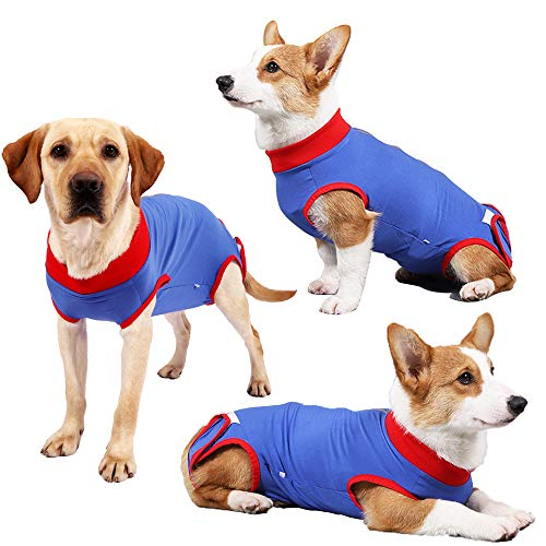 Recovery Suit for Dogs After Surgery Dog's Postoperative Clothing Post-Operative Vest Puppy Medical Post Surgical Clothes Pet After Surgery Wear