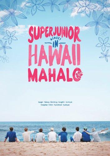[Photobook] Super Junior - SUPER JUNIOR MEMORY IN HAWAII [MAHALO] [200p+DVD+Mouse Pad+Poster]