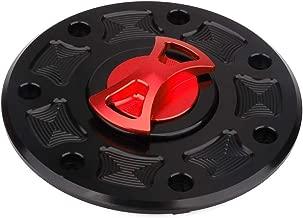 AnXin Motorcycle Gas Fuel Tank Cover Twist off CNC Aluminum Billet Keyless Cap For Kawasaki ZX1100 ZZR1100 ZR400 EX400 EX250 EX500 Ninja 250R 500 500R GPX250 GPZ 250 750 900 1000