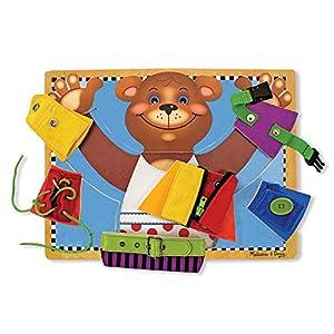 Melissa & Doug Basic Skills Puzzle Board - from Melissa Doug