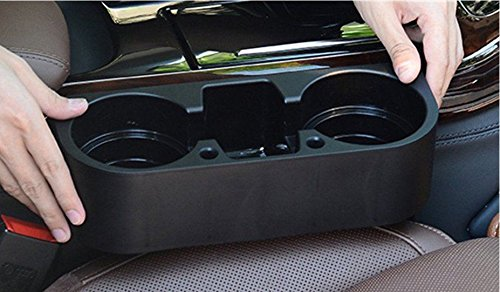 Becherhalter KfZ Getränkehalter AM-60S 530450 Halterung Flaschenhalter Kaffebecher Becherhalter Cupholder Schwarz