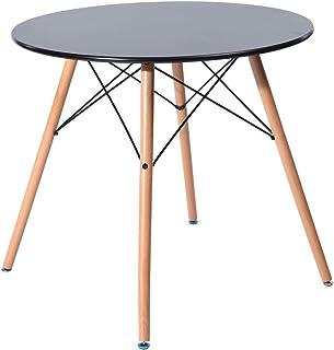 FurnitureR Eames Mesa de Comedor para 4 Personas Mesa de Com