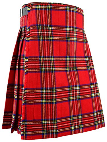 Hamilton Kilts Tradicional de Escocia Mens Kilt Royal Stewart Tartan