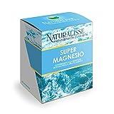 Naturalisse SUPER MAGNESIO - Integratore con Magnesio Citrato – Alto Contenuto ed Elevata Biodisponibilità - Contribuisce alla Riduzione di Stanchezza e Affaticamento – 60 compresse