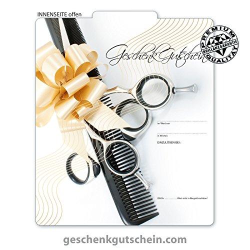 10 Stk. Premium Geschenkgutscheine Gutscheine zum Falten