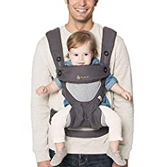 Breathable, lightweight all-mesh carrier All carry positions, including ergonomic, forward facing option Lumbar support for extra back comfort as your baby grows