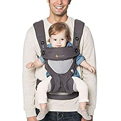 #9. Best Mesh Baby Carrier: Ergobaby 360 Cool Carriers