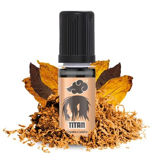NINDO Kit 2 Aromi Concentrati TITAN 10ml   Mix equilibrato di Virginia e Latakia per un gusto…tostato!   100% Made in Italy   Aroma Puro da Diluire (Confezione Risparmio 2 Aromi)