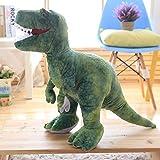 CGDZ 50cm-110cm Simulation Dinosaure en Peluche Jouets Animaux en Peluche en Peluche Dinosaure Oreiller Tyrannosaure Rex Poupées Enfants Filles Cadeaux 60 cm
