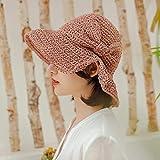 Sombrero De Playa para Verano Rafia Lazo Sombrero para El Sol Visera Sombreros De ala Ancha para Mujeres Playa Panamá Paja Sombrero De Cubo Gorra Talla Única 5